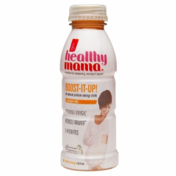 healthy mama Boost-It-Up! All Natural Protein Energy Drink, Mighty Mango, 12 fl oz