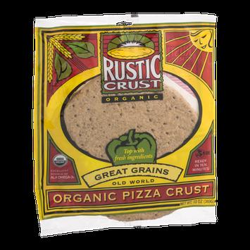 Rustic Crust Old World Organic Pizza Crust Great Grains