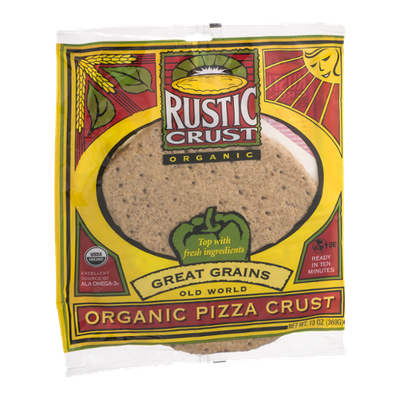 Rustic Crust Old World Organic Pizza Crust Great Grains