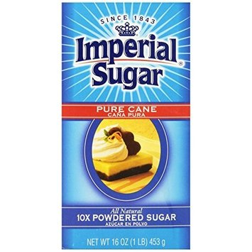 Imperial Powdered Sugar, 1-Pound (Pack of 8)