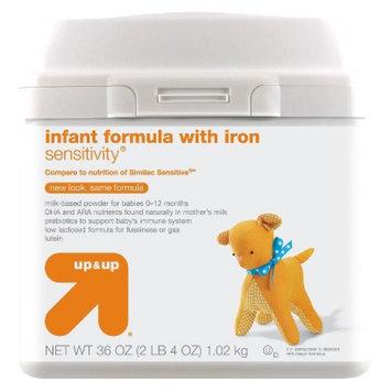up & up Baby Food Infant Formula Sensitivity 36 oz 6 pk