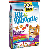 Kit & Kaboodle Kit and Kaboodle Original Cat Food, 22 lbs