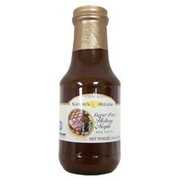 Nature's Hollow Sugar Free Honey Mustard BBQ Sauce, Sweetened with Xylitol (12 oz bottle)
