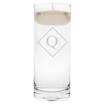 Cathy's Concepts Diamond Initial Floating Unity Candle Q