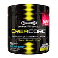 MuscleTech CreaCore Concentrate Creatine Powder, Blue Raspberry, 9.88 oz