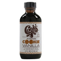 Cook's Cooks Cookie Vanilla Extract, 4-Ounce (Pack of 2)