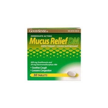 Good Sense Mucus Relief DM -- 30 Tablets