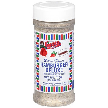 Bolner's Fiesta Brand Fiesta Brand Hamburger Deluxe Seasoning, 7 oz jar
