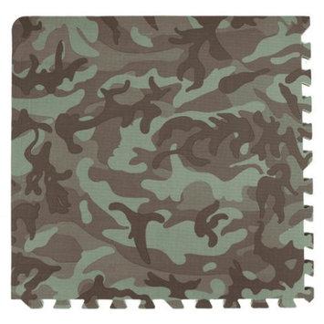 Tadpoles 4 Piece Camouflage Print Green Playmat Set