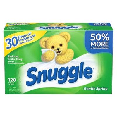 Snuggle Green Burst Fresh Scent Dryer Sheets 120 ct