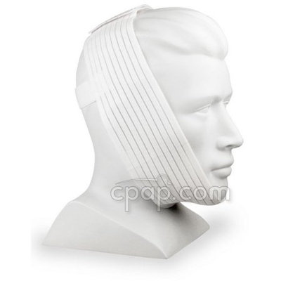 AG Industries AG302425-R Deluxe Universal Chinstrap- White