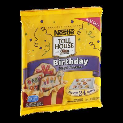Nestlé Toll House Sugar Cookies Birthday - 24 CT