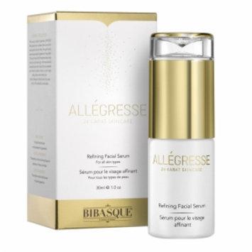 Bibasque Allegresse 24K Gold Refining Facial Serum, 1 oz