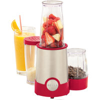 Bella 12-Piece Rocket Blender, Red