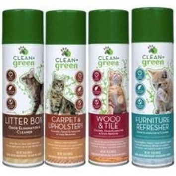 Petrotech Clean Green Wood Tile Odor Eliminator, Cleaner and Stain Remover for Cats (16 oz)