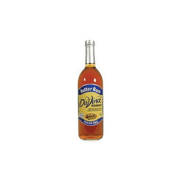 DaVinci Gourmet Butter Rum Sugar Free Syrup 25.4 FL OZ.