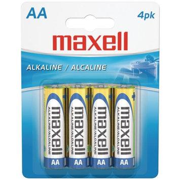 Maxell MAXELL 723465 - LR64BP Alkaline Batteries AA PK 4 Pk PK Carded