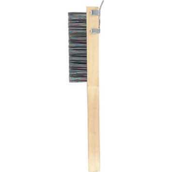 GAM Paint Brushes BW014 Stainless Steel Wire Scratch Brush With Beveled Scraper