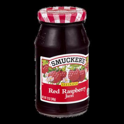 Smucker's Red Raspberry Jam Seedless