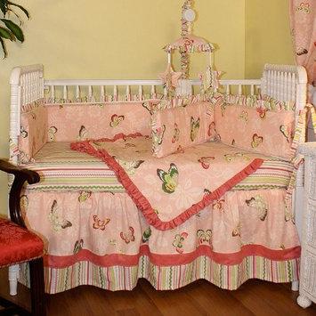 Hoohobbers Burst Seagrass 4 Piece Crib Bedding Set