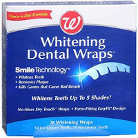 Walgreens Whitening Dental Wraps