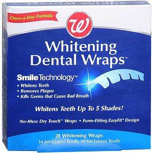 Walgreens Whitening Dental Wraps