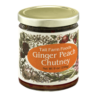 Tait Farm Foods Ginger Peach Chutney