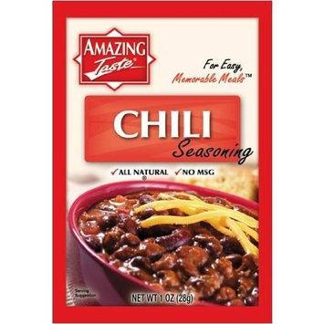Amazing Taste Chili Seasoning Bundle (12 Packets- 1 oz ea.)