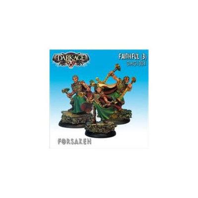 Dark Age Games 1304 Forsaken Faithfuls 3, Miniatures And Miniature Games