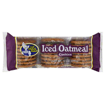 Lil' Dutch Maid Iced Oatmeal Cookies
