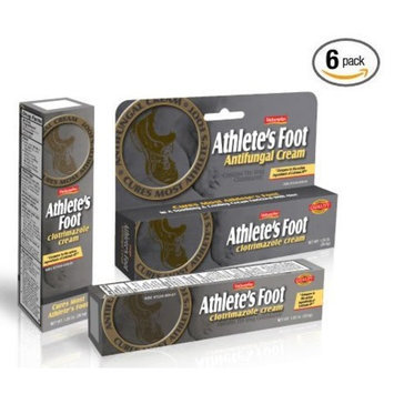 Natureplex Antifungal Cream for Athlete's Foot 1% Clotrimazole Cures Most Athelete's Foot *Compare to the active ingredients of Lotrimin 6 Packs of 1.25 oz