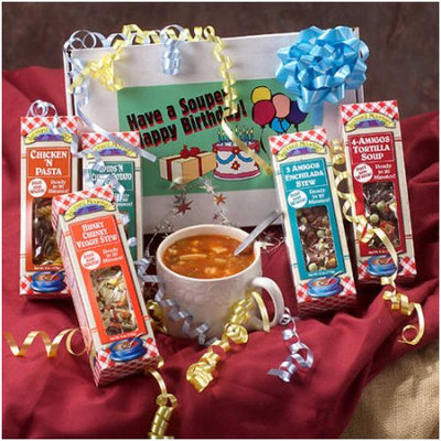 Leonard Mountain Happy Birthday Gourmet Soup Mixes, 6 oz, 5 count
