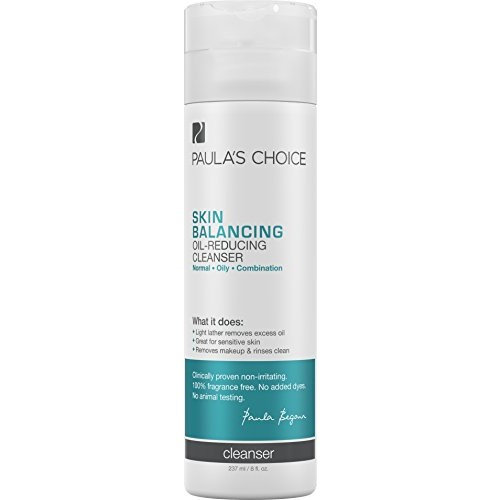 Paula's Choice Skin Balancing Oil-Reducing Cleanser for Normal, Combination, and Oily Skin - 16 oz [16 oz]