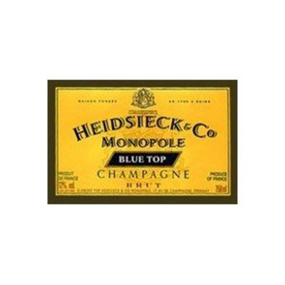 Heidsieck Co. Monopole Blue Top Champagne Brut NV 750ml