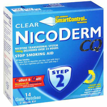 Nicoderm CQ Stop Smoking Aid Patch