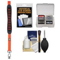 BlackRapid Shot Molded Shoulder Camera Strap (Orange) with Cleaning + Accessory Kit