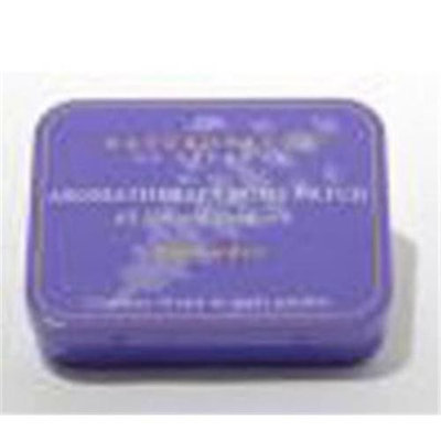 Naturopatch Of Vermont Aromatherapy Essential Oil Body Patches, Lavender, Chamomile & Jasmine, Sleep Aid 10 Patches Tin by