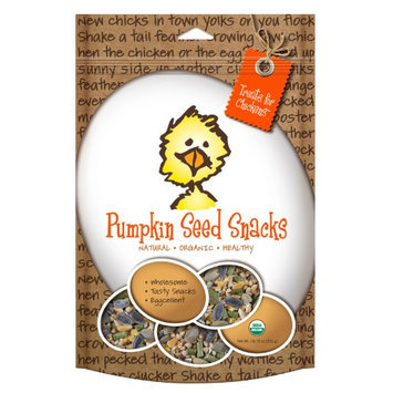 Treats For Chickens Llc Treats For Chickens Pumpkin Seed Snacks, Size: Individual Pack