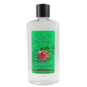 La Tee Da La-Tee-Da Potting Shed Fragrance Lamp Oil 16 Oz