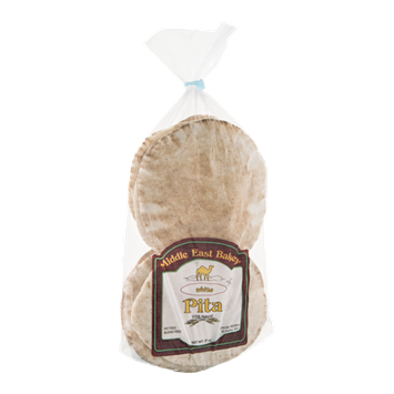 Middle East Bakery Pita White - 10 CT