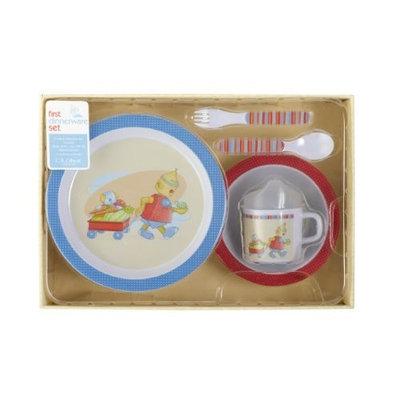 Cr Gibson C.R. Gibson Melamine Dinnerware Set, Baby Bots