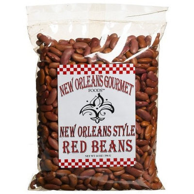 New Orleans Gourmet Foods Orleans Gourmet Foods New Orleans Style Red Beans With Seasoning, 14-Ounce Bags (Pack of 6)