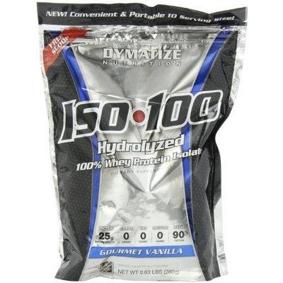 Dymatize Nutrition Iso 100, 0 Carb Whey, Gourmet Vanilla, 280 Gram