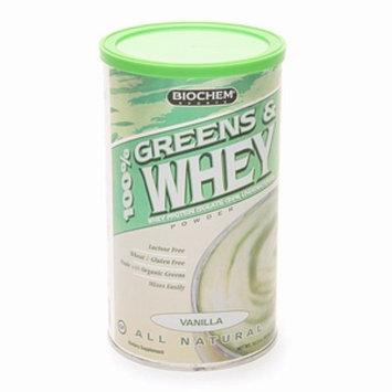 Biochem 100% Greens & Whey Protein Isolate Powder