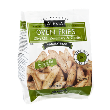 Alexia All Natural Family Size Olilve Oil, Rosemary & Garlic Oven Fries