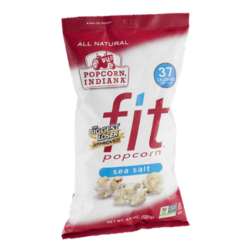 Popcorn, Indiana Fit Popcorn Sea Salt