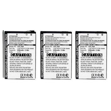 Battery for Siemens V30145-K1310K-X444 (3-Pack) V30145-K1310K-X444 Batteries 2-Pack for Siemens Phones