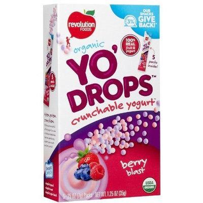 Revolution Foods Yo'Drops - Berry Blast