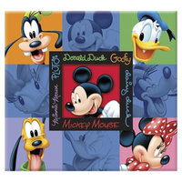 Sandy Lion Disney Mickey & Friends Embossed Postbound Album- (12x12