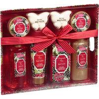 Aromanice Pomegranate Noir Bath Gift Set, 8 pc